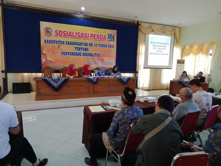 Pemdes di 3 Kecamatan Alokasikan Dana Desa untuk Pendampingan Disabilitas