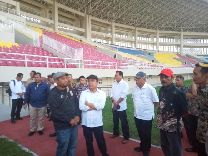 Besok, Presiden Jokowi Resmikan Stadion Manahan