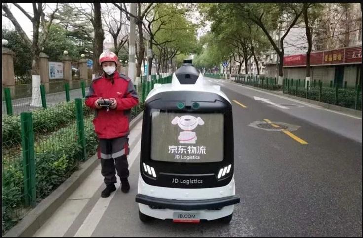 Situs E-commerce Gunakan Robot Untuk Kirim Barang ke Wuhan