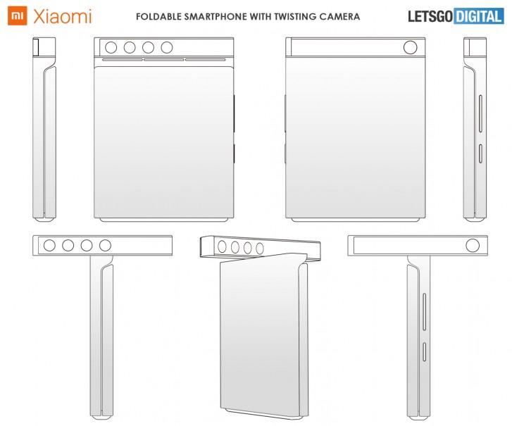 Paten Xiaomi Ungkap Desain Smartphone Layar Lipat