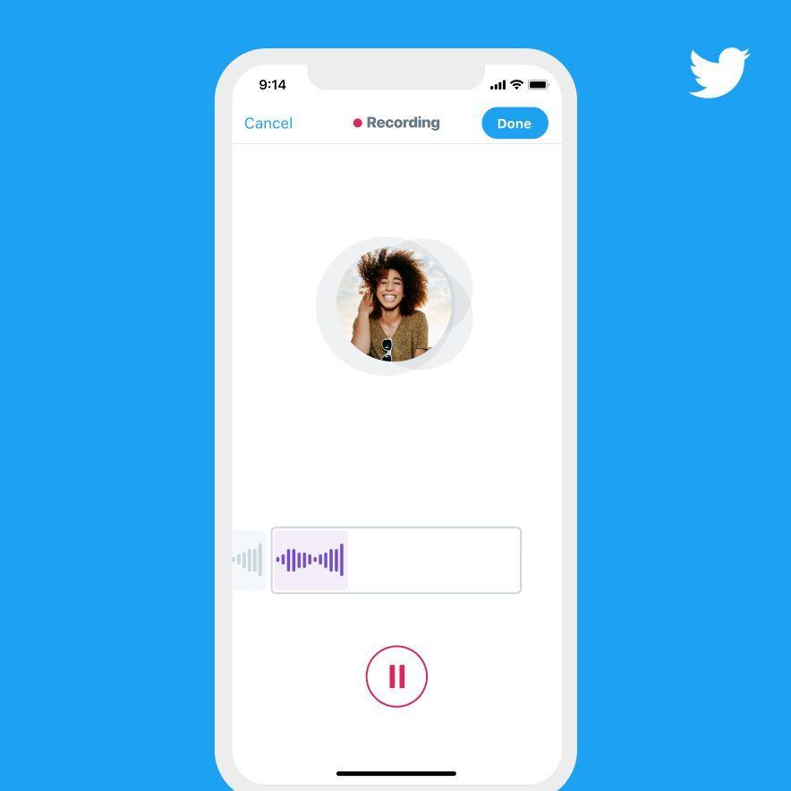 Twitter Izinkan Pengguna Posting Tweet Audio - Tim