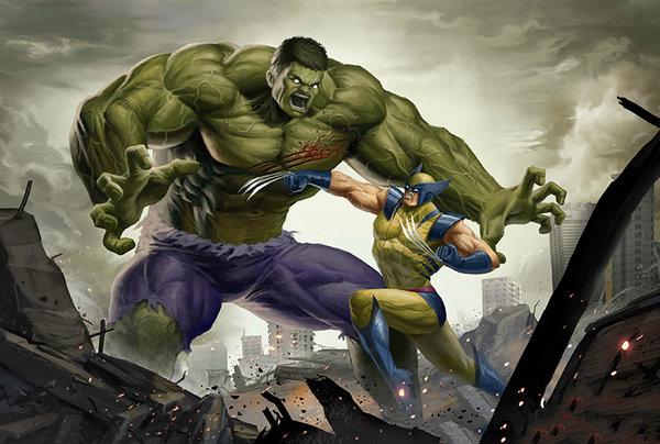 Hugh Jackman Wolverine Versinya Bisa Kalahkan Hulk Versi Mark Ruffalo Timlo Net
