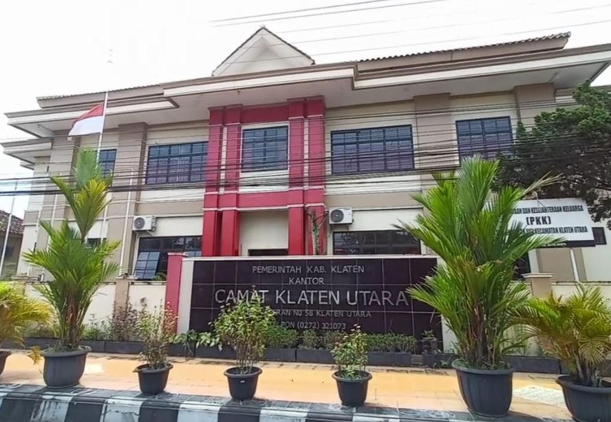 Lagi Pegawai Positif Covid 19 Kini Giliran Kantor Kecamatan Klaten Utara Lockdown Timlo Net