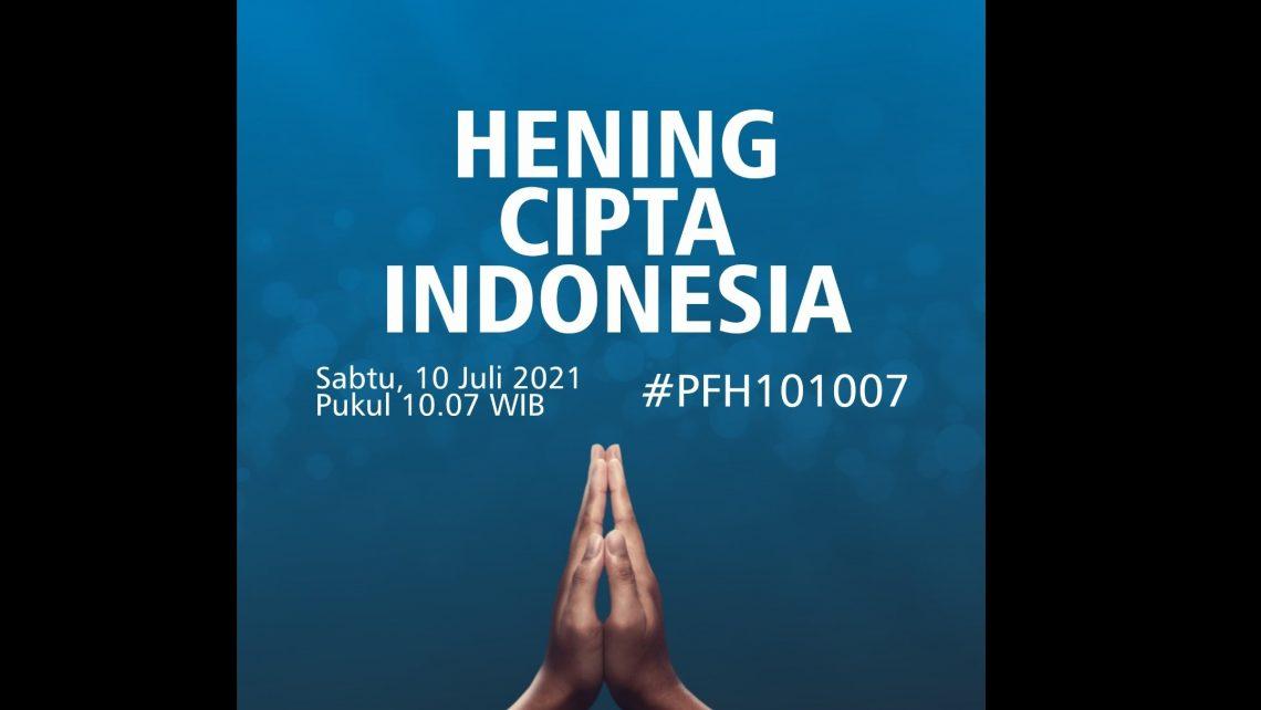 Hening Cipta Indonesia, Doakan Korban Covid-19 di Tanah ...